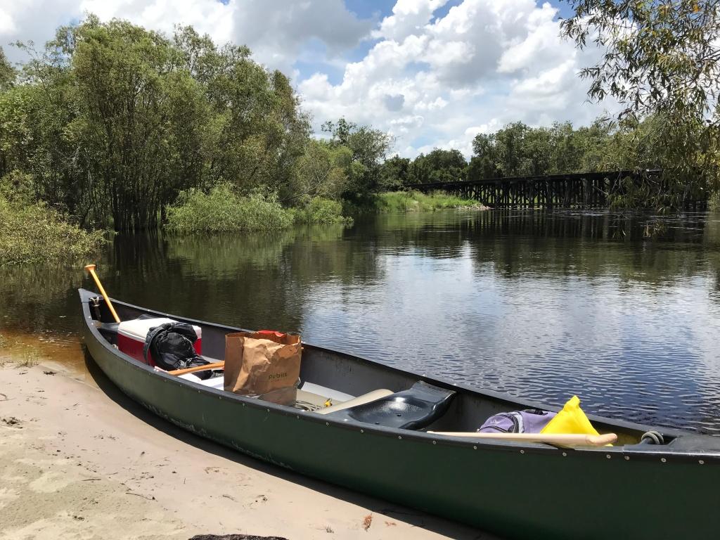Canoeing in Sarasota, FL